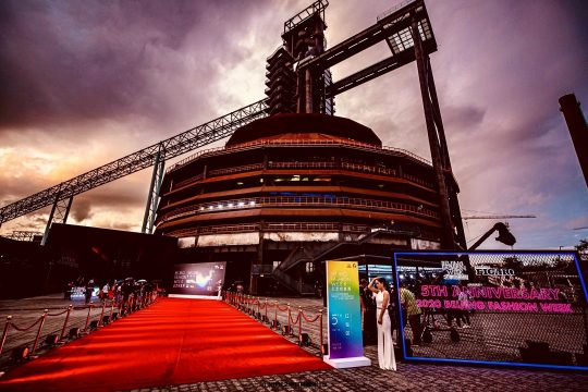 时装周 开幕式 北京 首钢
